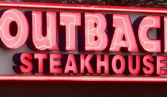 """An Outback Steakhouse manager at a Cleveland, Tennessee, location asked a uniformed officer with the Tennessee Wildlife Resource Agency to leave its """"gun free zone"""" after a customer complained. Outback's parent company apologized to the officer on Feb. 2, 2018, as news of the incident was picked up by local media outlets. (Image: ABC-9 Tennessee screenshot)"""
