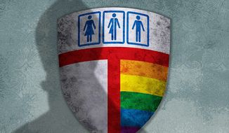 Episcopal Reforms Illustration by Greg Groesch/The Washington Times