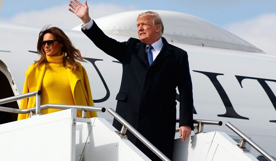 Some Republican strategists see President Trump's skills in creating spectacle and working the media as an asset for the midterm races. (Associated Press)