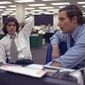 Washington Post reporters Bob Woodward, right, and Carl Bernstein photographed May 7, 1973. (Associated Press) ** FILE **