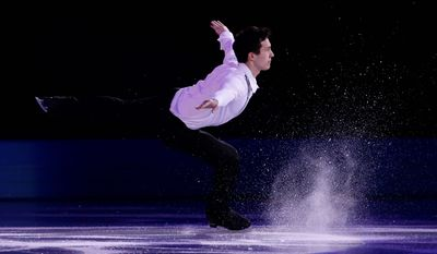 Canadian figure skater Patrick Chan is a three-time world champion.
