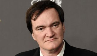 In this Jan. 10, 2016, file photo, Quentin Tarantino arrives at The Weinstein Company and Netflix Golden Globes afterparty in Beverly Hills, Calif. Tarantino has apologized to Roman Polanski rape victim Samantha Geimer for comments he made in a 2003 radio interview with Howard Stern. (Photo by Chris Pizzello/Invision/AP, File)