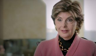 "This image released by Netflix shows attorney Gloria Allred in a scene from the documentary ""Seeing Allred,"" premiering on Netflix on Friday. (Netflix via AP)"