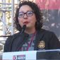 California Assemblywoman Cristina Garcia, Democrat, serves the Golden State's 58th District. (Image: Politico video screenshot)
