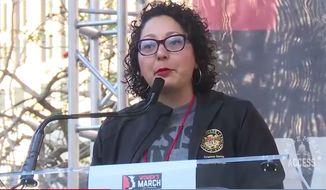 California Assemblywoman Cristina Garcia, Democrat, serves the Golden State's 58th District. (Image: Politico video screenshot)