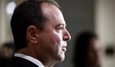 """Rep. Adam Schiff  No Democrat has embraced the charges in the Steele dossier more than Mr. Schiff of California, the leading Democrat on the House Permanent Select Committee on Intelligence.  At a March 2017 hearing, he read some of its charges into the record as if they had been proven. He and some fellow hard-line Democrats have credited the dossier with disclosures that could be found on the Internet beforehand.   Mr. Schiff has used committee hearings to try to prove a dossier charge that Mr. Trump took in prostitutes to his hotel room in Moscow.   He also pushed the dossier's far-fetched tale that Michael Cohen, Mr. Trump's lawyer, secretly traveled to Prague in August 2016 to arrange with Russian agents a coverup of Kremlin hacking. There is no evidence outside the dossier and Mr. Cohen has testified under oath he never went to Prague or any where else to do a coverup.  Fusion's Mr. Simpson still believes Mr. Cohen made the trip, suggesting he could have flown in a Russian's plane and was on a yacht in the Adriatic that August.  """"All ridiculous,"""" Mr. Cohen told The Washington Times.   Mr. Schiff has called Mr. Trump the worst president in modern history. He has opposed all efforts by Committee Chairman Devin Nunes, California Republican, to investigate the dossier funding and its use by the FBI."""
