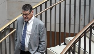 Glenn R. Simpson, Fusion GPS co-founder and the orchestrator of the Christopher Steele dossier, tried to sell the story about Trump-Russia collusion using a computer server. (Associated Press/File)