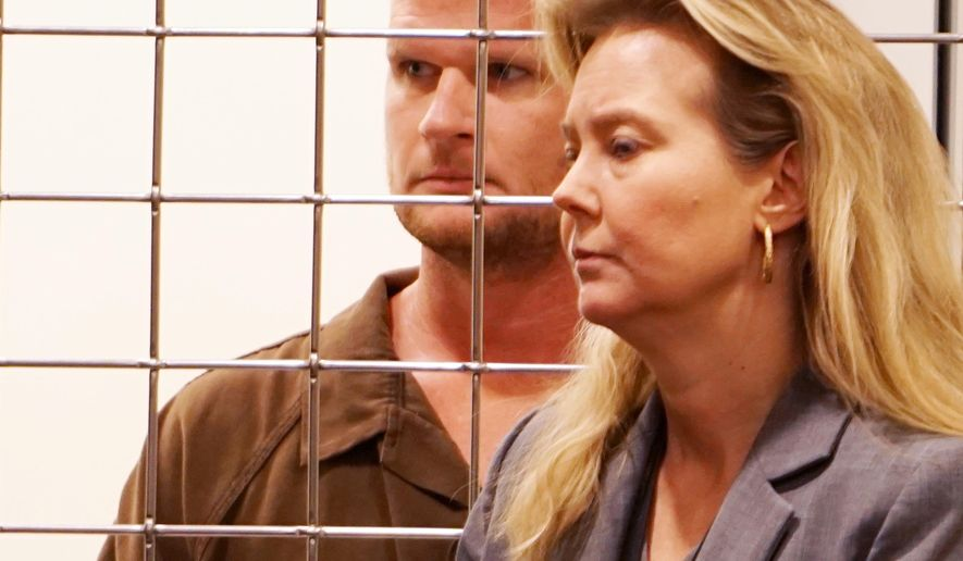 CORRECTS CITY TO ASHEVILLE, NOT ASHLAND - FILE - In this Sept. 12, 2016 photo, Seth Willis Pickering, left, appears with LeeAnn Melton, Buncombe County public defender, in Buncombe County Court in Asheville, N.C. Pickering, of Leicester, N.C., pleaded guilty to first-degree murder for killing his daughter, Lila Pickering, within the boundaries of the Blue Ridge Parkway, R. Andrew Murray, U.S. Attorney for the Western District of North Carolina, announced Friday, Feb. 9, 2018. (Tonya Maxwell/The Asheville Citizen-Times via AP, File)