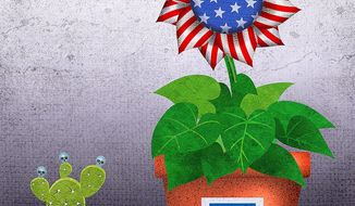 Due Credit for the Economy Illustration by Greg Groesch/The Washington Times