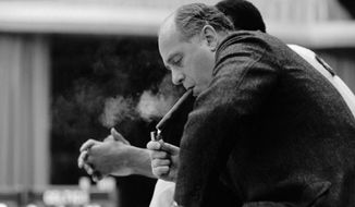 Red Auerbach, who won nine NBA titles with the Celtics, coached the Washington Capitols from 1946 to 1949. (Getty  Images)