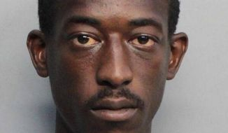 Robert Young III was shot and killed inside the Florida home of U.S. Customs and Border Protection agent Maria Otero, Feb. 12, 2018. (Image: Miami-Dade Corrections via the Miami Herald)