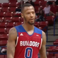 Louisiana Tech player Jacobi Boykins reacts to being ejected from a game Thursday, Feb. 8. (Image: Screen grab from video at https://twitter.com/beINCOLLEGE/status/961789563890028544/video/1)
