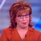 """Joy Behar of """"The View"""" told her co-hosts on Feb. 13, 2018, that Vice President Mike Pence may have a """"mental illness"""" if he says that Jesus Christ personally informs his decision making. (Image: YouTube, """"The View"""" screenshot)"""