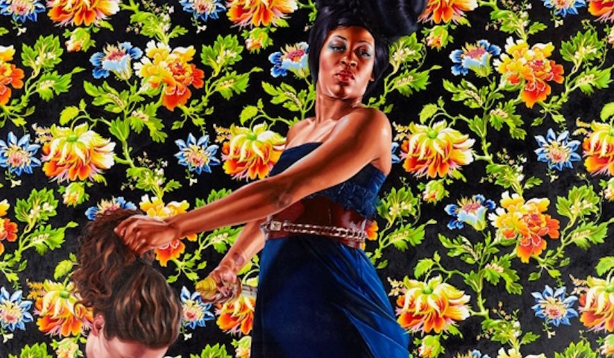kehinde wiley, barack obama's portrait artist, painted black women ...