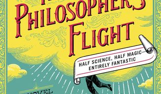 "This book cover image released by Simon & Schuster shows ""The Philosopher's Flight,"" a novel by Tom Miller. (Simon & Schuster via AP)"