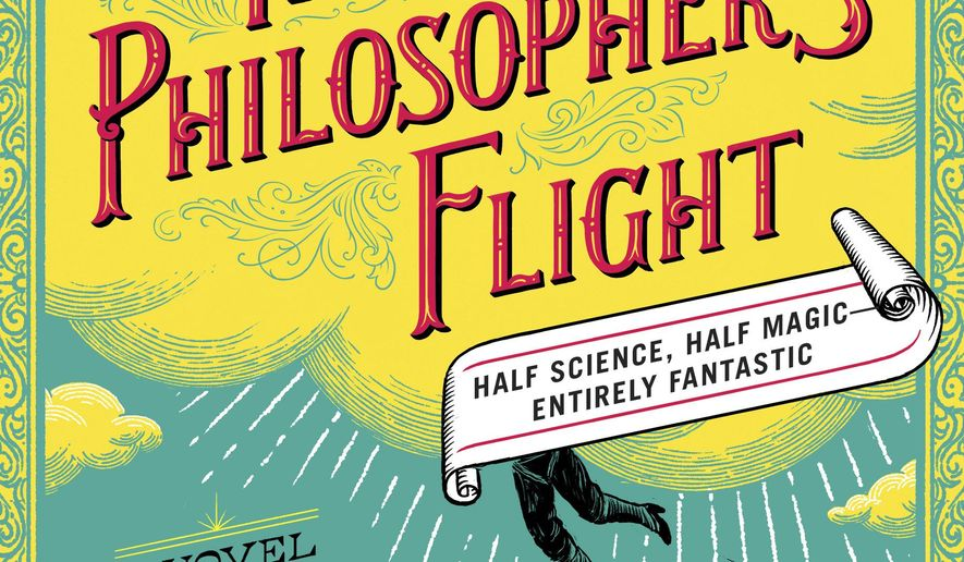 """This book cover image released by Simon & Schuster shows """"The Philosopher's Flight,"""" a novel by Tom Miller. (Simon & Schuster via AP)"""