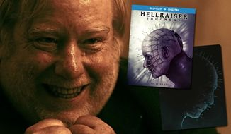 "The Assessor oversee the Blu-ray releases of ""Hellraiser: Judgment"" and ""Hellraiser: Limited Edition Steelbook,"" now available on Blu-ray."