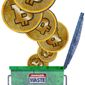 The End of the Bitcoin Era Illustration by Greg Groesch/The Washington Times