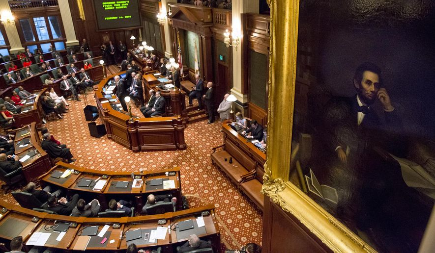 The Illinois General Assembly is considering a number of firearms bills as the state appears to be a hotbed of legal challenges over gun rights. (Associated Press/File)