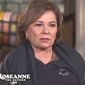 "Roseanne Barr sits down for an interview with ABC's ""20/20"" to discuss the return of her iconic television show. (Image: ABC screenshot)"