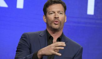 """FILE - In this Aug. 3, 2016, file photo, Harry Connick Jr. participates in the """"Harry"""" panel during the NBC Television Critics Association summer press tour in Beverly Hills, Calif. Connick Jr.'s daytime show is coming to an end later this year. NBCUniversal Domestic Television said Friday, Feb. 16, 2018, that Connick's talk-variety show, titled """"Harry,"""" will wrap after two seasons. (Photo by Richard Shotwell/Invision/AP, File)"""