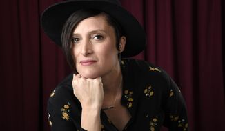 FILE - In this Feb. 5, 2018 file photo, Rachel Morrison poses for a portrait at the 90th Academy Awards Nominees Luncheon in Beverly Hills, Calif. Morrison is one of five cinematographers up for the top prize at the 32nd ASC Awards on Saturday and is also in contention for the cinematography Oscar next month. (Photo by Chris Pizzello/Invision/AP, File)