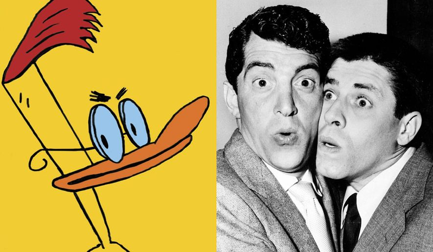 """Duckman: The Complete Series"" and ""Martin & Lewis Gift Set,"" now available in the DVD format. (Jerry Lewis and Dean Martin photo / Associated Press)"
