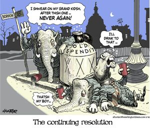 The continuing resolution