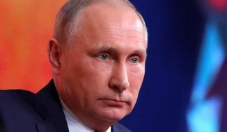 Vladimir Putin. (Associated Press) ** FILE **