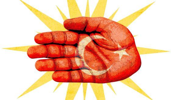 Ottoman Slap Illustration by Greg Groesch/The Washington Times