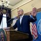 """""""In 2018, voters in dozens of states will have the opportunity to elect Democratic governors to hold the veto pen in the 2021 redistricting process and ensure fair maps and better congressional representation for generations to come,"""" said Washington Gov. Jay Inslee, chairman of the Democratic Governors Association. (Associated Press)"""