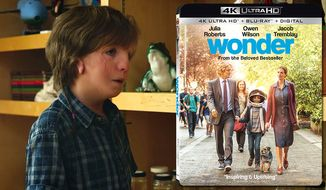 "Jacob Tremblay stars as Auggie Pullman in ""Wonder,"" now available on 4K Ultra HD from Lionsgate Home Entertainment."