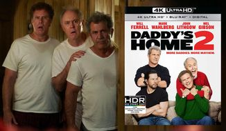 "The infamous thermostat scene in ""Daddy's Home 2,"" now available on 4K Ultra HD from Paramount Pictures Home Entertainment."