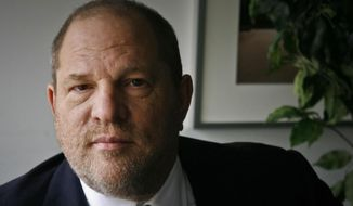 In this Nov. 23, 2011, file photo, film producer Harvey Weinstein poses for a photo in New York. Weinstein has asked a judge to toss out a federal sexual misconduct lawsuit filed against him, and he's invoking the words of some A-list actresses in his defense. (AP Photo/John Carucci, File)