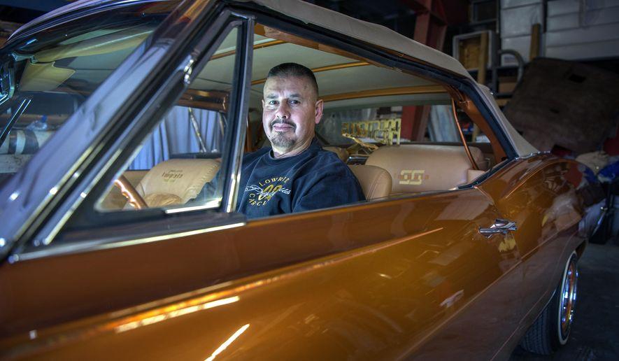 Espanola Mans Lowrider Museum Dream Soon To Be Reality Washington - Lowrider car show los angeles 2018