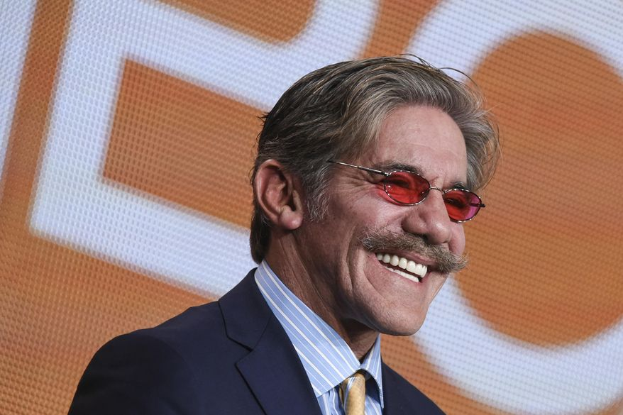 "In this Jan. 16, 2015, file photo, Geraldo Rivera participates in ""The Celebrity Apprentice"" panel at the NBC 2015 Winter TCA in Pasadena, Calif. (Photo by Richard Shotwell/Invision/AP, File)"