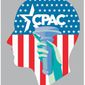 Illustration on the goals and ideals of CPAC by Linas Garsys/The Washington Times