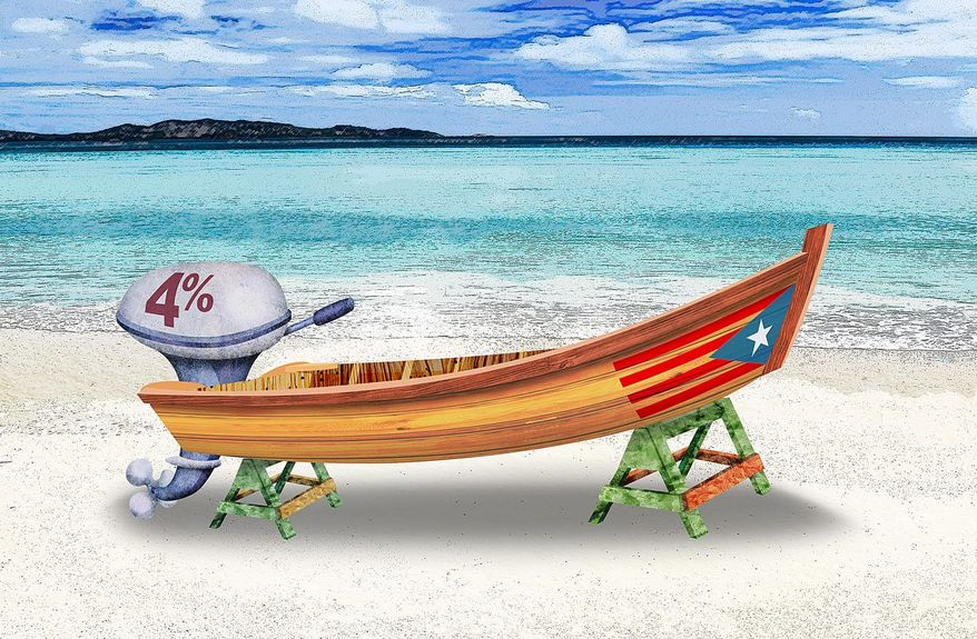 No Takers for Puerto Rico's 4% Corporate Tax Rate Illustration by Greg Groesch/The Washington Times