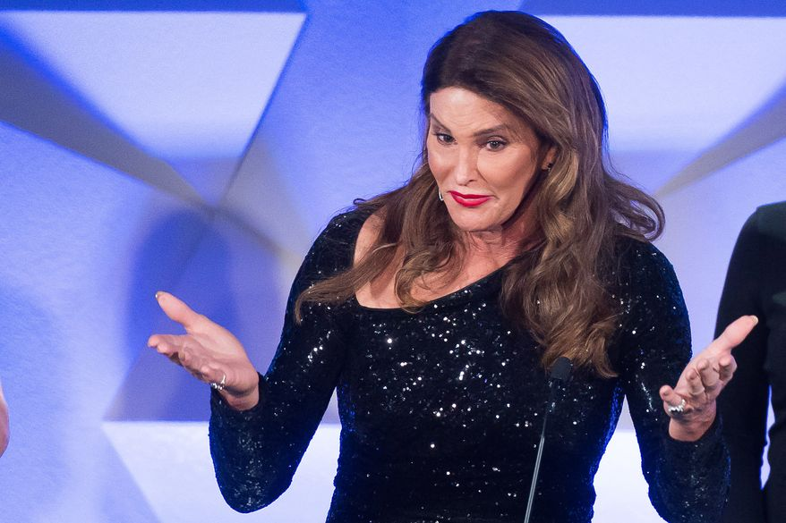 In this May 14, 2016, file photo, award recipient Caitlyn Jenner speaks during the 27th Annual GLAAD Media Awards in New York. (Photo by Charles Sykes/Invision/AP, File)