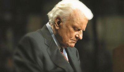 The Rev. Billy Graham (Billy Graham Evangelistic Association) ** FILE **