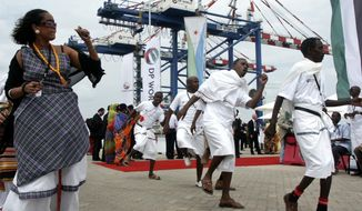 Djibouti has seized control of the terminal run by DP World, the latest move in a long-running legal dispute between the East African nation and DP World over the facility. (Associated Press/File)