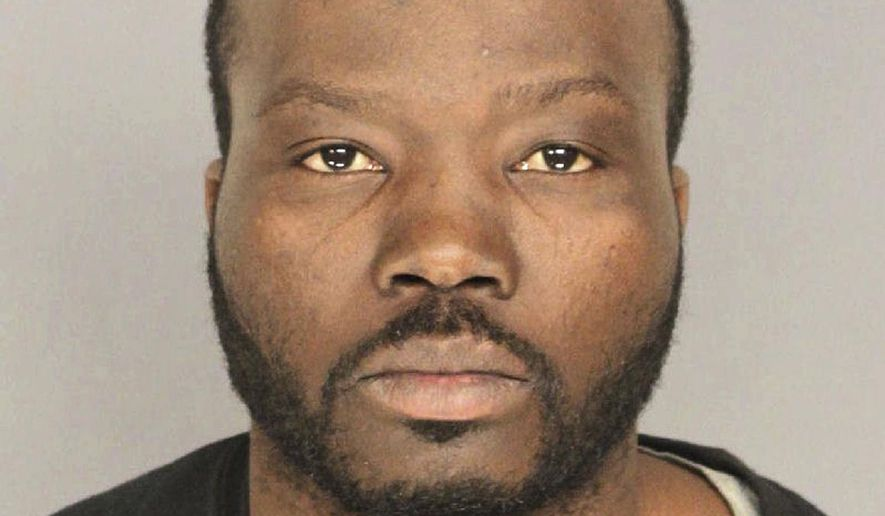This undated photo provided by the Essex County Prosecutor's Office in Newark, N.J., shows Marckles Alcius, a Massachusetts man who prosecutors say deliberately crashed a stolen bakery delivery truck into a Planned Parenthood clinic on Feb. 14, 2018, in East Orange, N.J., injuring three people including a pregnant woman. Alcius began researching locations of Planned Parenthood clinics more than a year earlier, prosecutors said Friday, Feb. 23, 2018. Alcius, a Haitian national who is not a U.S. citizen but is believed to be in the country legally, faces charges including aggravated assault and attempting to cause widespread injury or damage. The New Jersey state attorney general's office will review the case to see if terrorism charges should be filed. (Essex County Prosecutor's Office via AP)