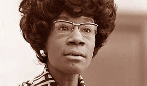 Shirley Chisholm. ** FILE **