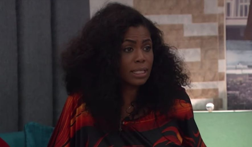 "Omarosa Manigault-Newman compared her abrupt departure from President Trump's White House to being ""freed off a plantation"" during explosive comments she made in CBS' ""Celebrity Big Brother"" house. (CBS)"