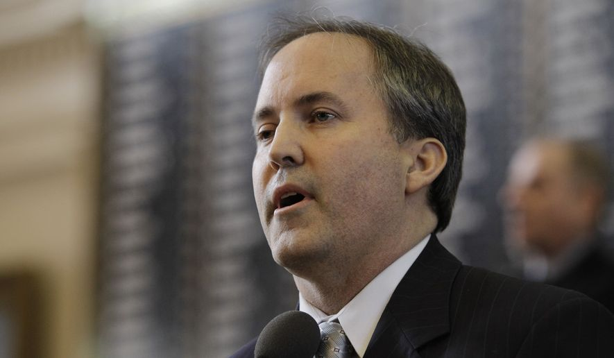 """We're hopeful that [Mr. Trump] doesn't pass judgement,"" Texas Attorney General Ken Paxton said, adding he only defends Texas statutes he deems constitutional. ""Certainly, the president has been very critical of Obamacare."" (Associated Press)"