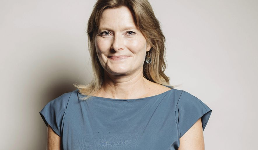FILE - In this Sept. 28, 2016 file photo, author Jennifer Egan poses for a portrait at 26th Annual Literary Awards Festival in Beverly Hills, Calif. Egan has been named the new president of PEN America. (Photo by Casey Curry/Invision/AP, File)