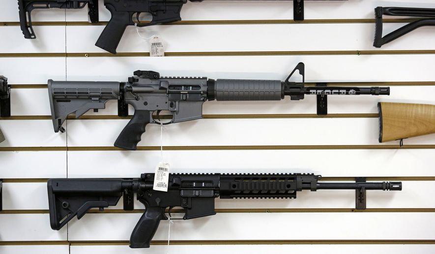 Those in the gun industry say other stores will be eager to step in to accommodate the continued demand for popular rifles like the AR-15. When major retailers discontinue selling certain categories of products other smaller outfits will also swoop in, said Roger Beahm, a retail expert at the Wake Forest University School of Business. (Associated Press)