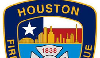 The seal for the Houston Fire Department. (Facebook)