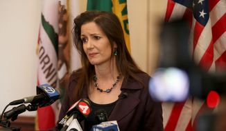 """Oakland Mayor Libby Schaaf stood by her warnings to illegal immigrants of an impending enforcement sweep. """"I do not regret sharing this information,"""" Ms. Schaaf said. """"It is Oakland's legal right to be a sanctuary city and we have not broken any laws. We believe our community is safer when families stay together."""" (Associated Press)"""