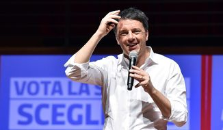 "Within two months, Matteo Renzi went from being the toast of Washington to resigning as prime minister after Italian voters rejected his electoral reform package. Former president Barack Obama hailed Mr. Renzi as a ""good friend."" (Associated Press)"